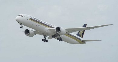 2nd Destination to be served by new 787