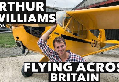 Arthur Williams on Flying Across Britain.