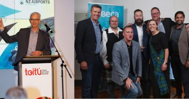 Wellington and Auckland Airports Claim Awards.