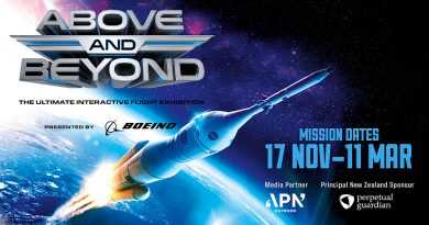 MOTAT to launch Above and Beyond this Saturday.