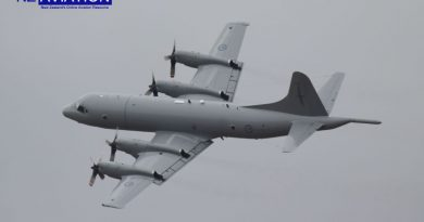 Photo: P3 Orion replaces B52.