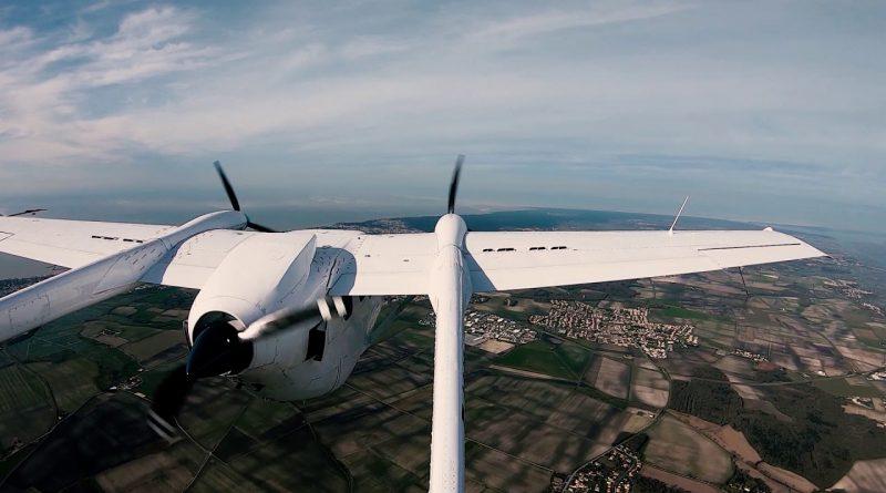VoltAero hybrid-electric test aircraft.