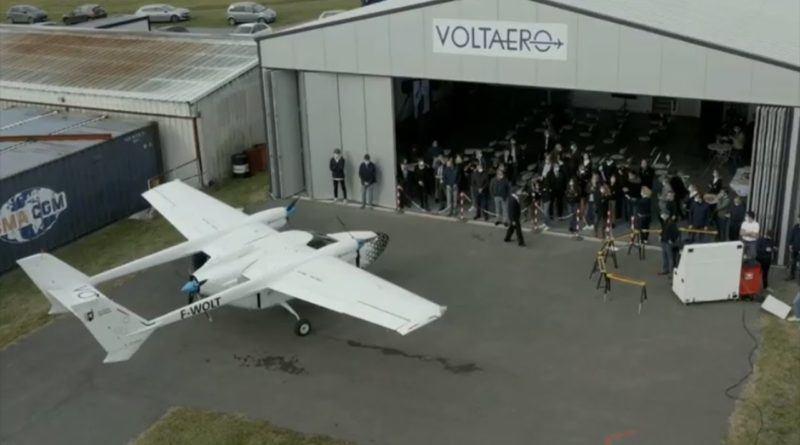 Demo flight for Cassio – the hybrid-electric aircraft.