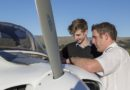 Students take flight with new aviation option.