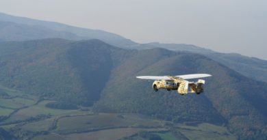 Key Milestone in the Airworthiness Testing for AeroMobil