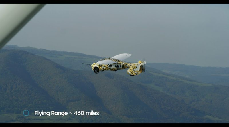 The Flying Car. Test flights of Experimental Prototype.