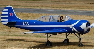 History made by female Yak-52 pilot.