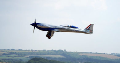 'Spirit of Innovation' takes to the skies